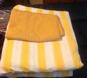 Yellow Striped Quilt in Fort Eustis, Virginia