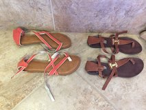 Size 7.5 sandals in Leesville, Louisiana