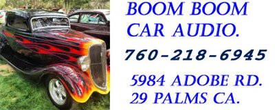 Boom Boom Car Audio 29 Palms in Yucca Valley, California