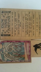 Rubber stamps, Fortune,  cranes, bird in Orland Park, Illinois