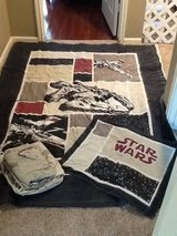 Vintage Star Wars twin quilt set in Conroe, Texas