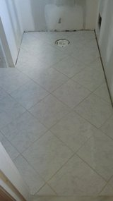 TILING (FLOODS & BATHROOMS) done in Elizabethtown, Kentucky