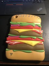 Ipad mini cover - Hamburger Bling Cover - Super Cute! Made of thick Rubber - Durable in Sugar Grove, Illinois