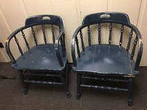 FIRE HOUSE CHAIRS (2) in St. Charles, Illinois