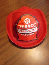 For Sale:  Texaco-Gasoline-Fire-Chief-Helmet-Felt-Fire-Helmet in Naperville, Illinois