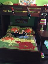 Twin/Full Bunk Bed Set + Mattresses + Box Springs in Katy, Texas