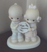 PRECIOUS MOMENTS HAPPY ANNIVERSARY FIGURINE GOD BLESSED OUR YEARS TOGETHER 1983 in Camp Pendleton, California