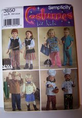 Toddlers Costume Sewing Pattern in Kingwood, Texas
