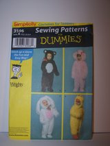 Toddlers Costumes Sewing Pattern in Kingwood, Texas
