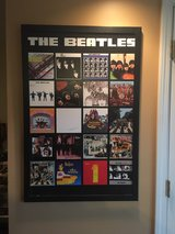 framed Beatles art in Batavia, Illinois