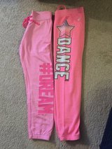 Girl's Justice sweatpants 12 in Plainfield, Illinois