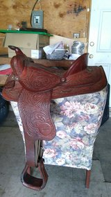 Saddle, 15 inch Big Horn in 29 Palms, California