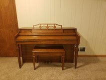 Piano in Fort Riley, Kansas