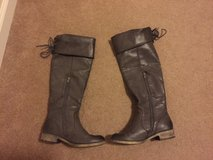 MIA Gray Boots for women size 8 in Travis AFB, California