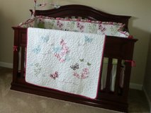 Convertible Crib and Mattress w/ Changing Table/Dresser in Fort Riley, Kansas