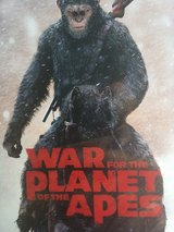 War for the plant of the apes DVD in Okinawa, Japan