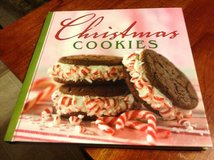 Hardback Christmas Cookies cookbook in Fort Riley, Kansas