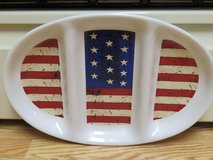 Stars and Stripes Platter in Fort Belvoir, Virginia