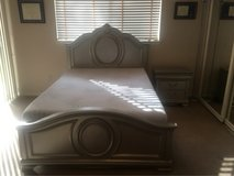 Full Size bed, Mattress & Nightstand in Spring, Texas
