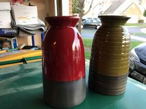 """9"""" Vases (RED or GREEN) in Naperville, Illinois"""