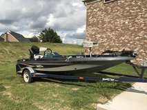 1994 Bumble Bee 254 Bass Boat with 75HP Mercury in Murfreesboro, Tennessee