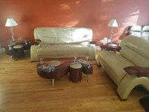 Leather Full Living Room Set in Tinley Park, Illinois