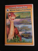 The Land Before Time 4 Movie collection DVD in Cherry Point, North Carolina