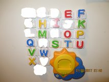 Leap Frog Fridge Phonics Sun Base Replacement Letters in Naperville, Illinois
