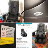 Cozzia Massage Chair in Temecula, California