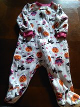 Halloween onsize and pajama size 3-6 months in Leesville, Louisiana