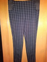 Black pattern pants in Spring, Texas