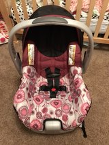 baby girl car seat ( never used ) in Wilmington, North Carolina