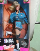 1998 NBA Barbie NIB in Barstow, California