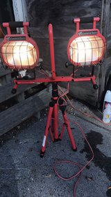 Dual outside work light in Watertown, New York