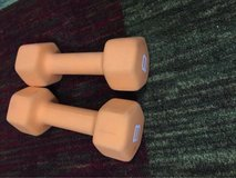 8-Pound Hand Weight (Set of 2) in Houston, Texas