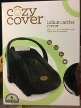 Infant carrier cover in Elgin, Illinois