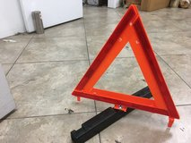 Warning Road Safety Warning Triangles James King & Co. Model 1005 OEM Z. Excellent Shape $10 for... in Travis AFB, California
