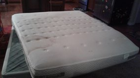 Cali King mattress and box springs in Indianapolis, Indiana