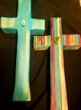 Rustic Handcrafted Southwestern Crosses in Alamogordo, New Mexico