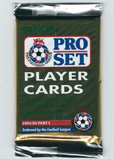 1991/92 Pro Set England (Football) (Major League Soccer) in Fort Riley, Kansas