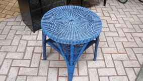wicker end table or night stand in Okinawa, Japan