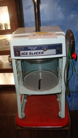 shaved ice machine in Okinawa, Japan