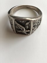Sterling Silver Eagle Ring in Oswego, Illinois