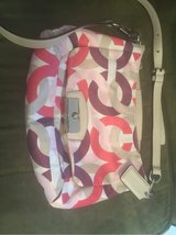 Authentic Coach Purse (Coral, Purple, Pink, Beige) in Spangdahlem, Germany