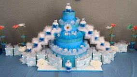 diaper cakes also made to order atleast give me 3 weeks prior in Rota, Spain