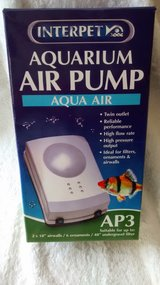 Interpet Aquarium Air Pump AP3 New in box in Lakenheath, UK