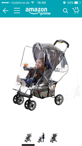 Jeep brand Stroller wet weather cover/ rain shield in Ramstein, Germany