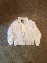 2X Bare Fox brand white coat in Fort Campbell, Kentucky