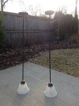 Pair of 2 Pendant Lights (Great for above a Kitchen Island); Bronze Finish in St. Charles, Illinois