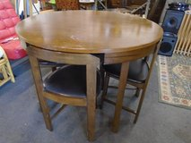 Space saving table and chairs in Lakenheath, UK